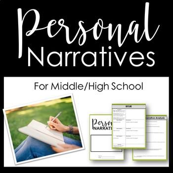 Personal Narrative / Memoir Printable Workbook