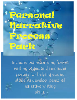 Personal Narrative Process Packet