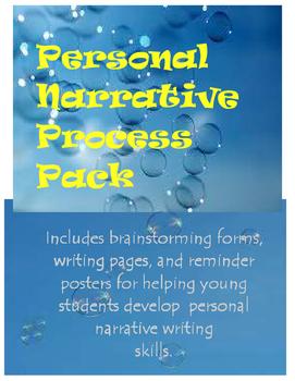 Personal Narrative Process Packet
