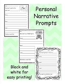 Personal Narrative Prompts