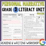 Personal Narrative Reading & Writing Unit: Grade 3...40 Lessons!!!