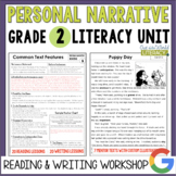 Personal Narrative Reading and Writing Unit: Grade 2...40 Lessons with CCSS!!