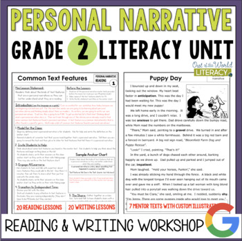 Personal Narrative Reading and Writing Unit: Grade 2...40