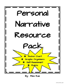 Personal Narrative Resource Pack