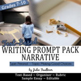 Prompt Personal Narrative {Making Good Choices} Mentor Paper, Stimulus