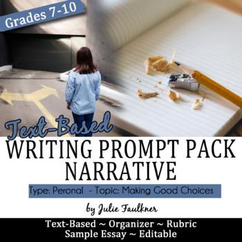 personal narrative sample paper
