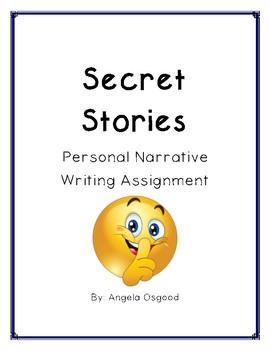 Personal Narrative: Secrets of Second Graders