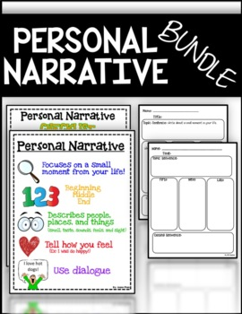 Personal Narrative Set