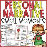 Personal Narrative Small Moment Seed Stories