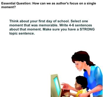 Personal Narrative Smartboard slides AND Lesson Plans BUNDLE! Gr. 3,4,5