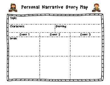 Personal Narrative Story Organizer