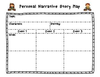 Personal Narrative Story Organizer