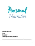 Personal Narrative Student Drafting Packet