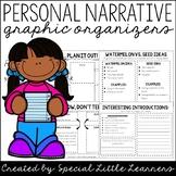 Personal Narrative Unit Graphic Organizers
