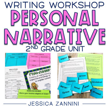 Writing Prompts 2nd Grade Personal Narrative Worksheets