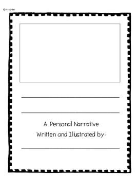 Personal Narrative Writing - 1st grade, 2nd grade and special education
