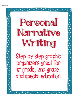Personal Narrative Writing - 1st grade, 2nd grade and spec