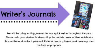 Personal Narrative Writing 5 Week Unit