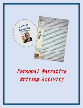 Personal Narrative Writing Activity