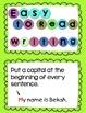 Personal Narrative Writing Anchor Chart Card Bundle