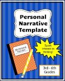 Personal Narrative Template