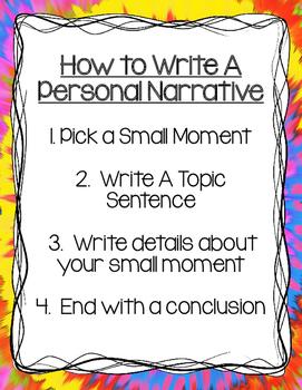 Narrative Writing Freebie!