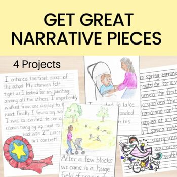 Personal Narrative Writing Unit for 2nd or 3rd Grade