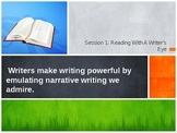 Personal Narrative Writing Lessons (Common Core aligned)