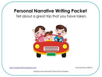 Personal Narrative Writing MEGA Pack