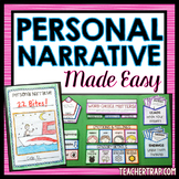 Personal Narrative Writing Made Easy