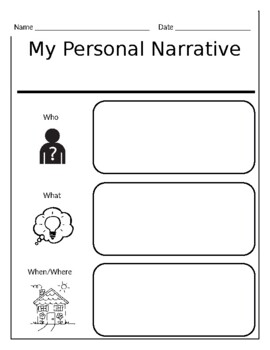 Personal narrative writing paper sample resume chief security officer