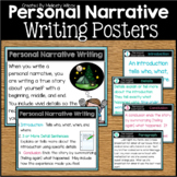Personal Narrative Writing Posters