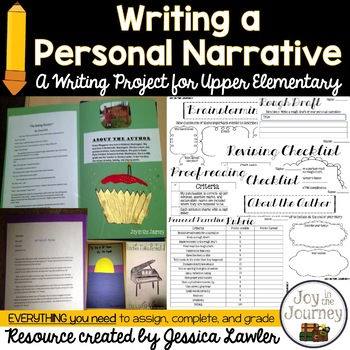 Personal Narrative Writing Project
