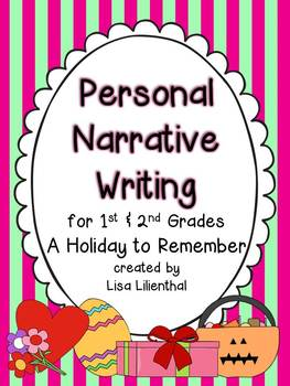 Personal Narrative Writing Project for Primary Grades {Common Core}