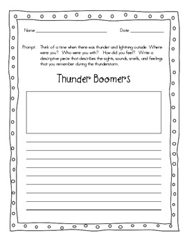 Personal Narrative Writing Prompts Bundle – 41 Prompts  - Gr. 1-5