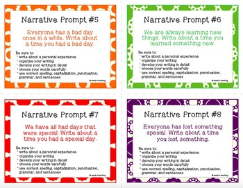 personal essay prompts