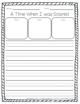 Personal Narrative Writing Prompts and Papers BUNDLE for Primary Grades