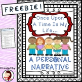 Personal Narrative Writing Assignment Rubric Sample