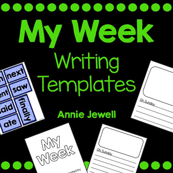 Personal Narrative Writing Templates for Kindergarten and