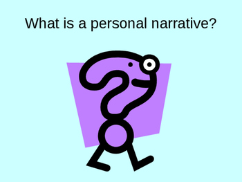 Personal Narrative Writing Tips