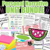 Personal Narrative Writing Unit BUNDLE l 15 Days
