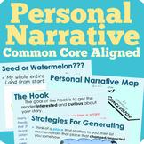 Personal Narrative Writing Unit (Common Core Aligned)