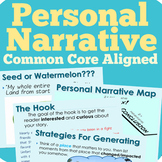 Personal Narrative Writing Unit (Common Core Aligned)