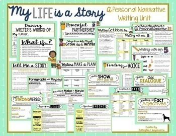 Personal Narrative Writing Unit {My Life is a Story}