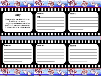 Personal Narrative Writing Unit PowerPoint and Student Packet