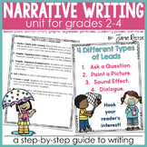 Personal Narrative Writing Unit for Grades 2-4