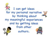Personal Narrative Writing Unit in English and in Spanish