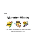 Personal Narrative Writing for Second Graders