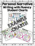 Personal Narrative Writing with Fluency Student Charts - T