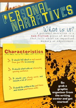 Personal Narratives Poster